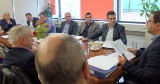 Συνάντηση με τον Αντιπεριφερειάρχη Νοτίου Τομέα Χρ. Καπάταη και των Δημάρχων του Νοτίου Τομέα για τον προγραμματισμό Τεχνικών Έργων