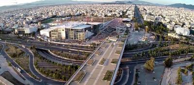 Tο Κ.Π.Ι.Σ.Ν. βρίσκεται εξ' ολοκλήρου εντός των διοικητικών ορίων του Δήμου Καλλιθέας