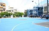 Παραδόθηκε στη νεολαία το νέο ανοιχτό γήπεδο καλαθοσφαίρισης