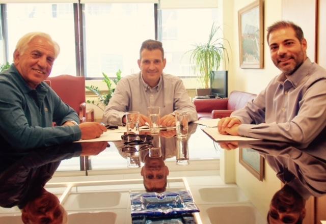 Συνάντηση των Δημάρχων Π.Φαλήρου, Αλίμου & Καλλιθέας
